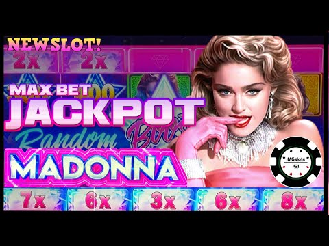 ⭐️NEW SLOT! MADONNA Mighty Cash Multipliers  ⭐️HANDPAY JACKPOT HIGH LIMIT $25 MAX BET SPINS ONLY ⭐️