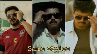 Thalapathy Vijay styles full screen whatsapp status thalapathy vijay bigil verithanam tamil