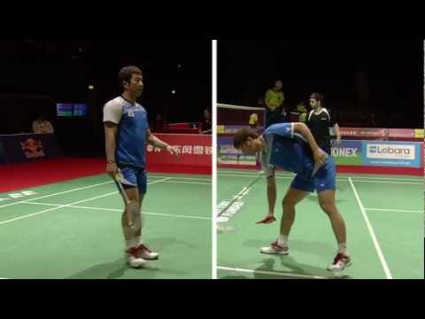 R32 (Day 1) - MD - Jung J.S./Lee Y.D. vs A.Clark/C.Langridge - Yonex BWF World Champs '11