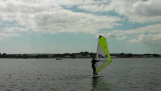 Windsurfing Freestyle - Body and Sail 360 Degree Spin