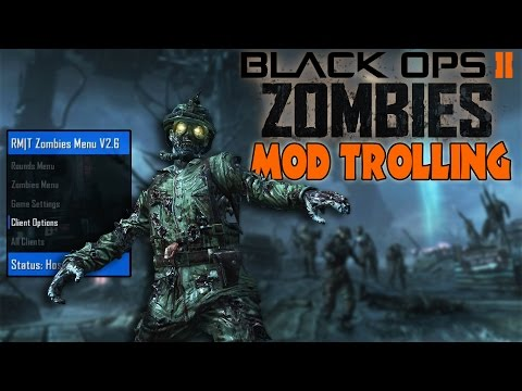 Black ops 2 Zombie Mod Trolling! (My Controller Is MODDING ME!)