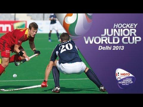 Belgium vs France - Hero Hockey Junior World Cup India QF2 [12/12/2013]