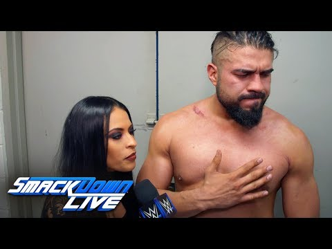 Andrade basks in his victory over Rey Mysterio: SmackDown Exclusive, Jan. 15, 2019
