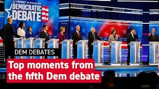 Breakout moments from the Democratic Debate