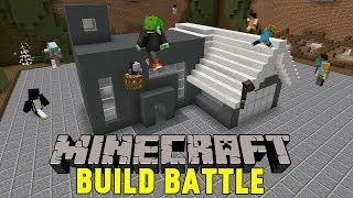Minecraft | MODERNT HUS FTW  | Team Build Battle Minigame på Svenska