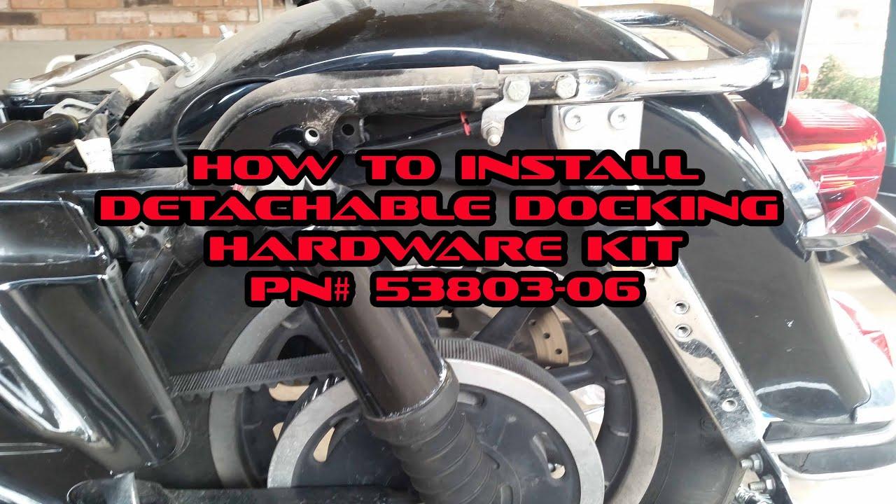 Harley Davidson Luggage Rack Detachable Hardware Kit Pn