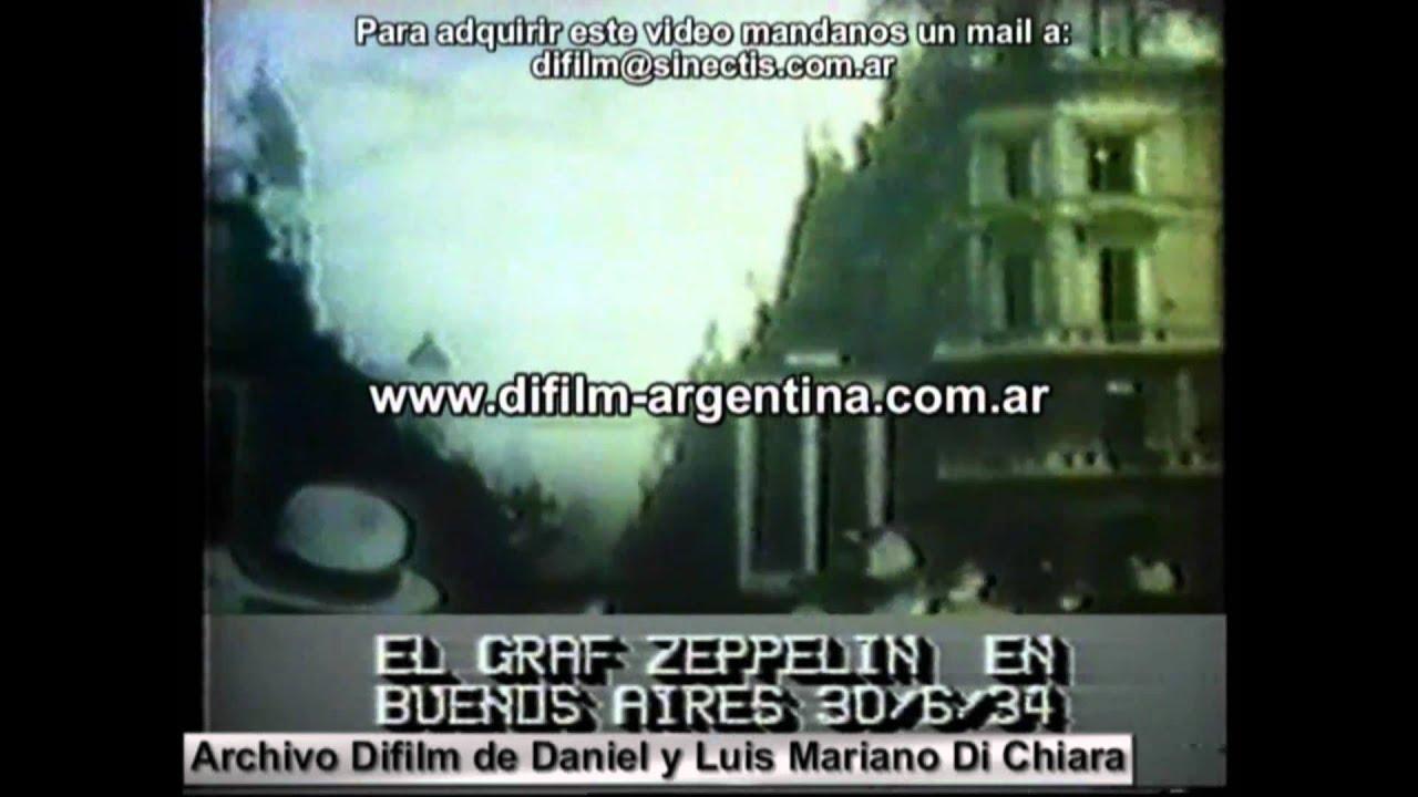 El graf zeppelin en buenos aires difilm 1934 youtube for Piletas en buenos aires