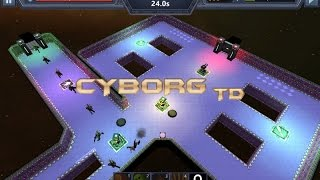 Cyborg TD Gameplay Video
