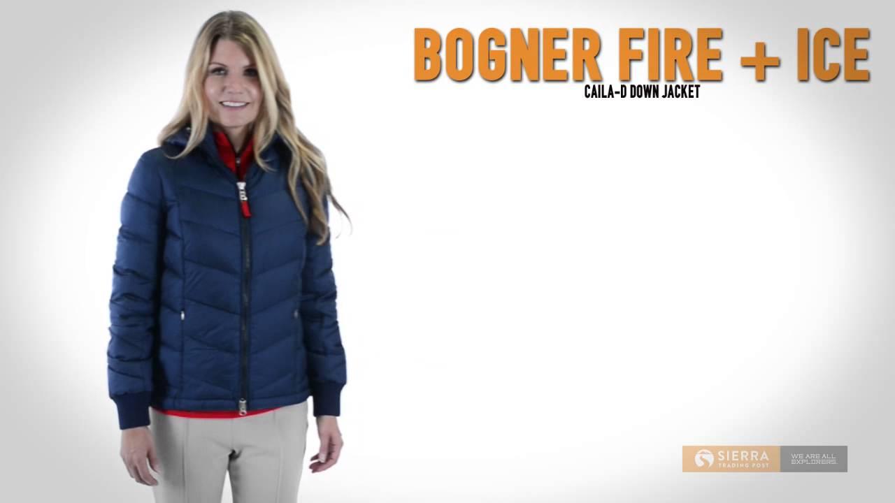 bogner fire ice caila d down jacket 600 fill power for women youtube. Black Bedroom Furniture Sets. Home Design Ideas