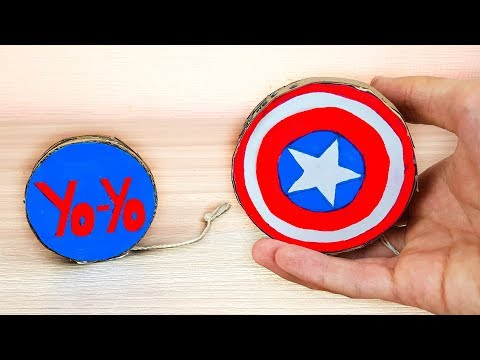 Yo-Yo Captain America Shield - Simple DIY Yo yo
