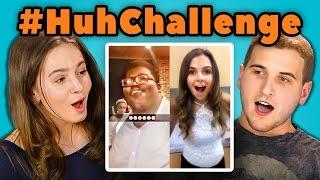 Baixar TEENS REACT TO HUH CHALLENGE (#huhchallenge)