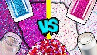 Weißer Kleber vs Klarer Kleber | Welcher Slime wird besser? DIY Versuch | Slime Experiment