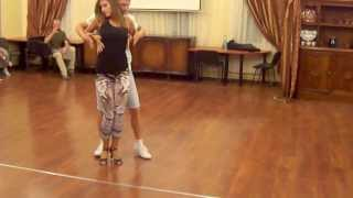 Paulina & Piotr Bachata Porno workshop SPAŁA 2013 Project Salsa -- kopia
