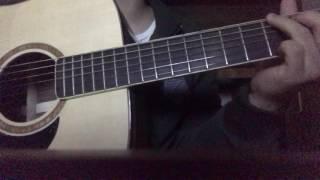 [Guitar cover] Mối tình đầu - Bình Minh Vũ