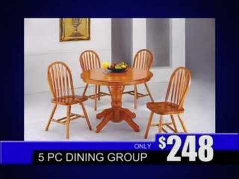 American Freight Furniture Affordable Dining Room Sets - YouTube