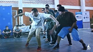 Free Panic crew vs Bboys • Dynamic Rockers • UNA San Lorenzo - Paraguay