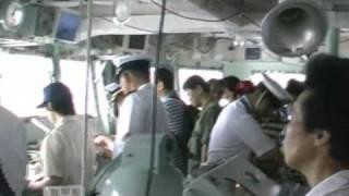 海上自衛隊 護衛艦しらゆき 体験航海にもう一隻の護衛艦が・・・。