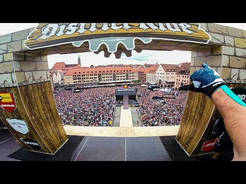 GoPro: World's First 1440 on MTB - Nicholi Rogatkin Wins Red Bull District Ride 2017