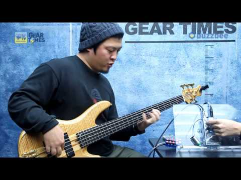 Aguilar 베이스이펙터 Bass Overdrive AGRO