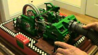 Lego Walschaerts Steam Engine Running On Vacuum