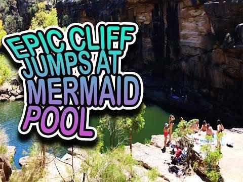 EPIC JUMPS IN MERMAID POOL SYDNEY!!!