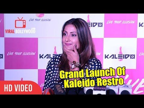 Urvashi Dholakia At Grand Launch Of Kaleido Restro | Viralbollywood