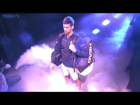 2016 Barclays ATP World Tour Finals exciting walk-on for Djokovic & Thiem