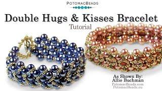 Make a  Double Hugs & Kisses Bracelet