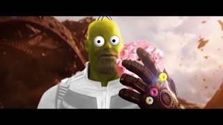 Avengers vs Homer Simpson, Donut War