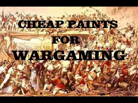 Tamiya Paints for Wargaming Miniatures