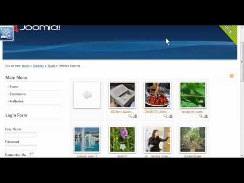 f6ca41a98 Joomla 2.5 - Add Phoca Galleries to Menu - YouTube