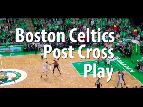 fec1f07bcd8c1 Boston Celtics Post Cross Basketball Offense | NBA Offensive Basketball  Plays