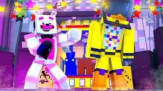 Funtime Freddy Pranks Chica! Minecraft FNAF Roleplay
