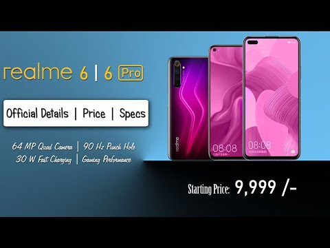Realme 6   Realme 6 Pro - Official Details   Price   Specifications
