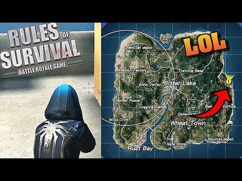 The WORST place to Land?! (Rules of Survival #90)