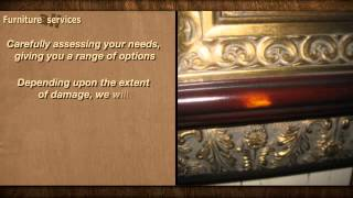 All Furniture Services® Furniture Wood Damage Repair Fill-in Touch-up Color Finish Restoring Company