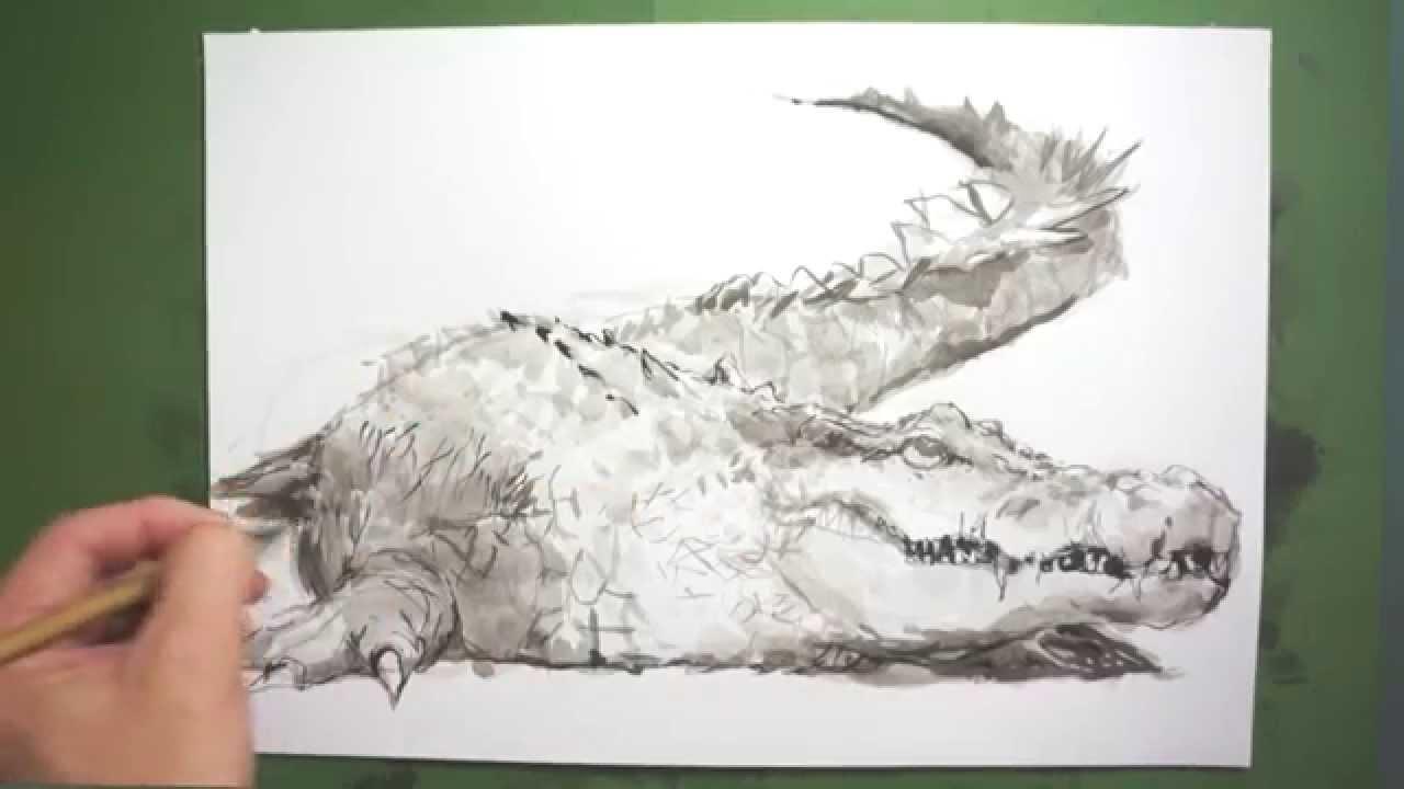 筆のイラスト 描き方絵の上達法を実演解説 ワニhow To Draw