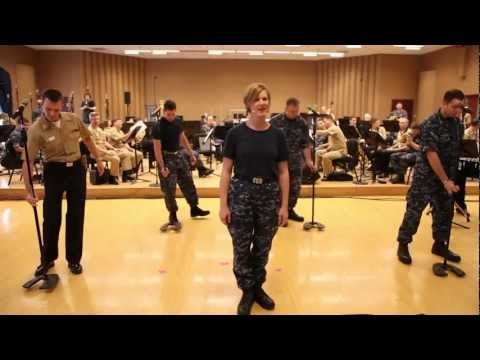 Navy Band Gets Ready To Get Down