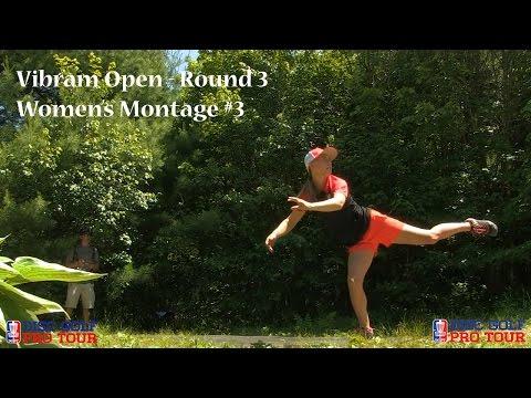 2016 Vibram Open - Catrina Allen, Paige Pierce, Sarah Hokom, Val Jenkins Montage #3 - Rnd3
