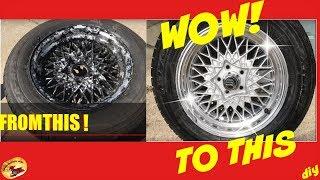 كيفية جعل الخاص بك القديمة عجلات/دواليب نظرة جديدة مرة أخرى. DIY أي شخص يمكن أن تفعل!