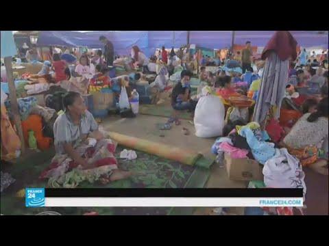 معارك الجيش الفلبيني مع متطرفين إسلاميين تدفع الآلاف للنزوح