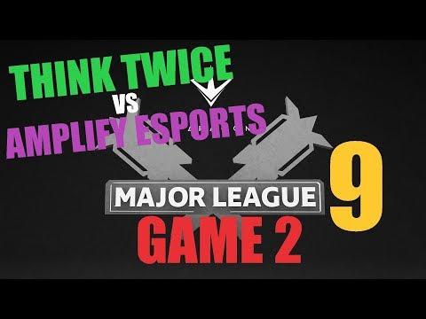 Game 2 - Think Twice vs Amplify eSports (Quarter Finals) | Paragon Major League 9