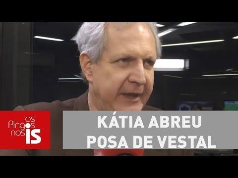 Augusto: Kátia Abreu Posa De Vestal No Cabaré Do PMDB