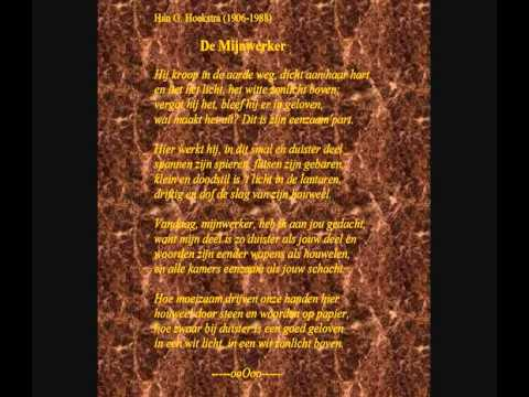 Han G. Hoekstra -- Gedicht: 'De mijnwerker'