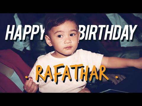 Asiiikkkk....Rafathar Ulang Tahun #DAILYRAFATHAR