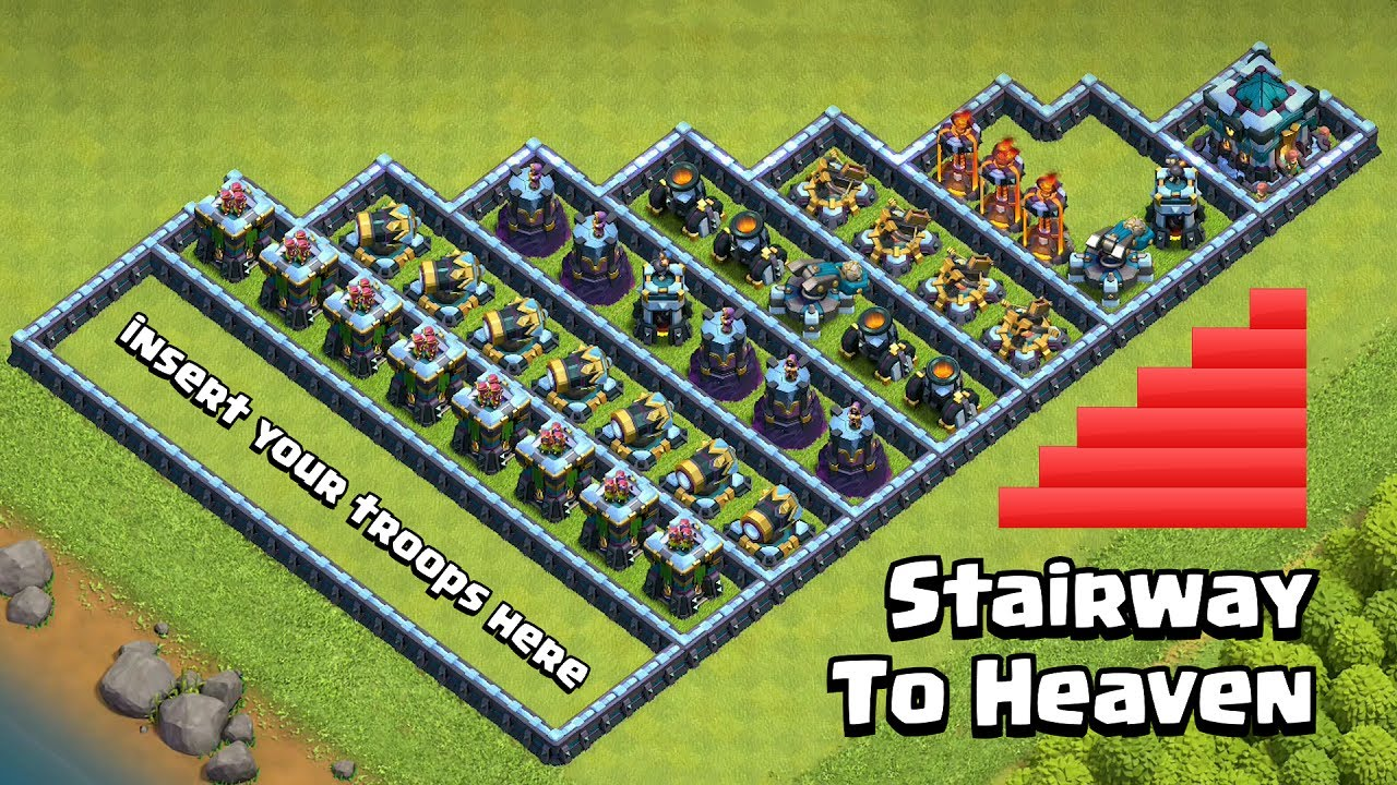 Stairway Base Challenge | Clash of Clans