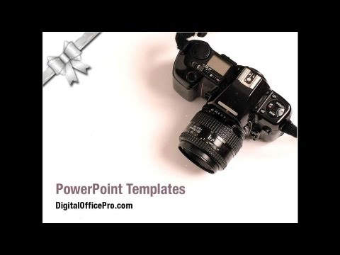 digital camera powerpoint template backgrounds  digitalofficepro, Powerpoint