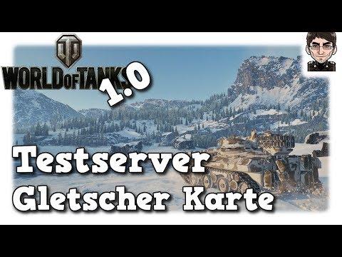 World of Tanks 1.0 - Preview HD Map Gletscher/Glacier [deutsch | News]
