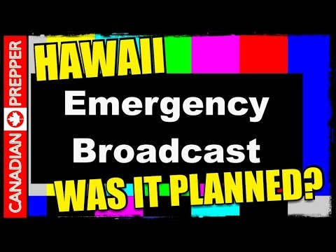 The Hawaii Emergency Alert Incident