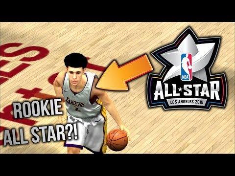 LONZO BALL MAKES THE ALL STAR TEAM AS A ROOKIE?! NBA 2K18 Mobile Association Mode Gameplay